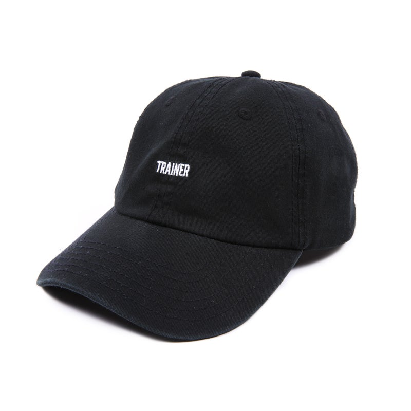 Image of Trainer Low Profile Sports Cap - Black