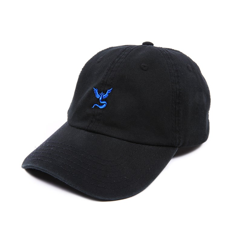 Image of Team Mystic Low Profile Sports Cap - Black