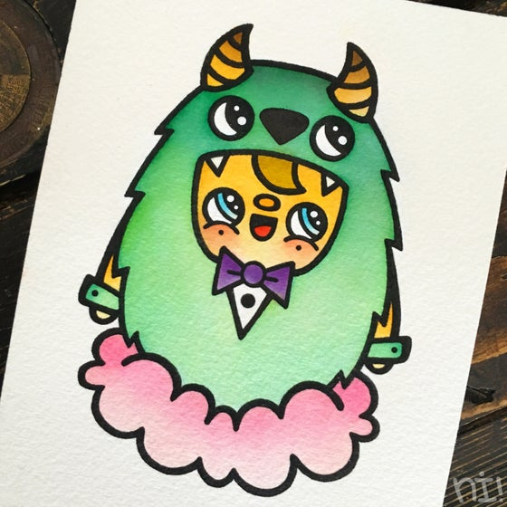 Image of SULLEY - PRINT - 310GR