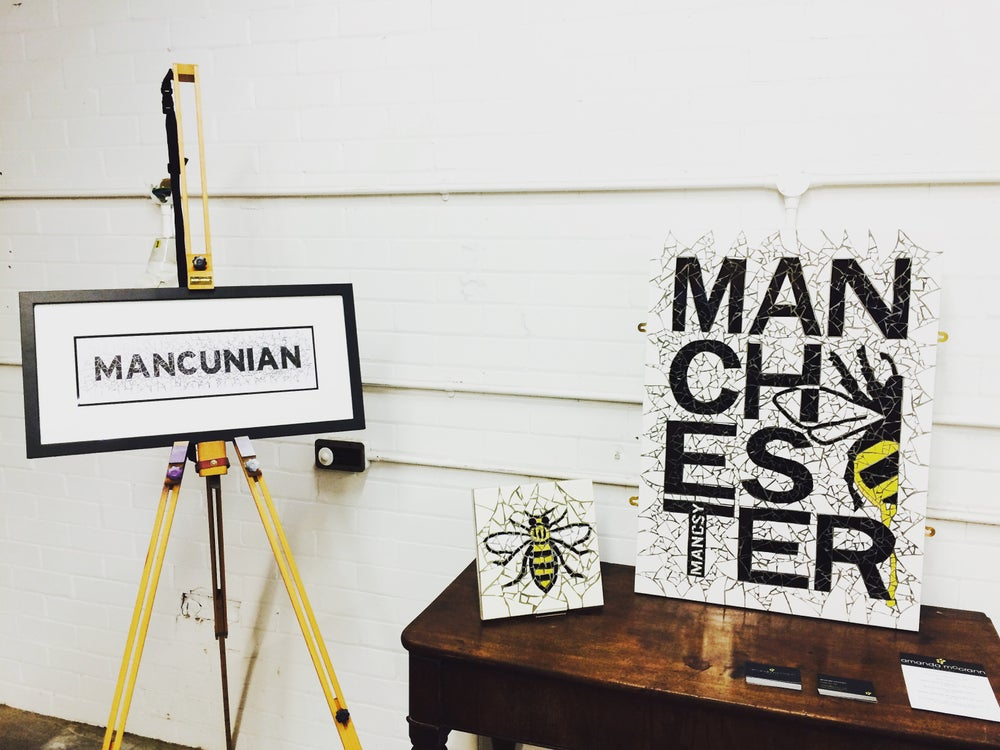 Image of MANCUNIAN MOSAIC Print