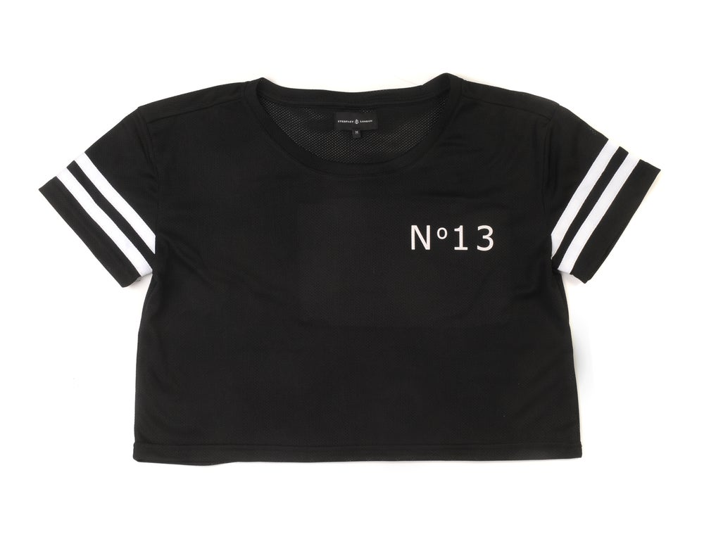 Image of №13 Mesh crop top