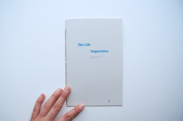 Image of Zine: The Life Imperative