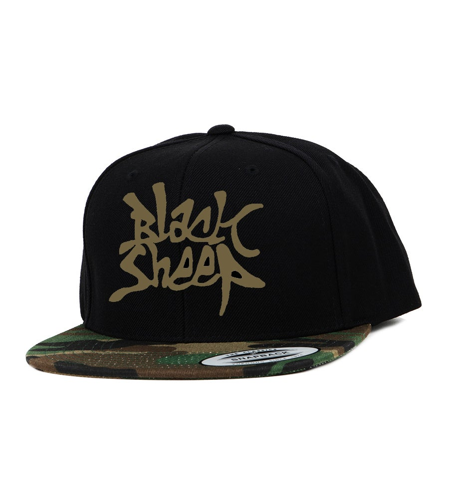 Image of CAMO SNAPBACK (BLACK/CAMO)