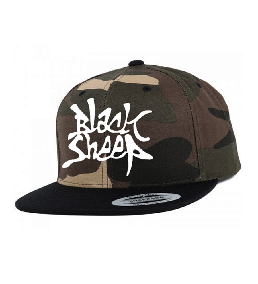 Image of CAMO SNAPBACK (CAMO/BLACK)
