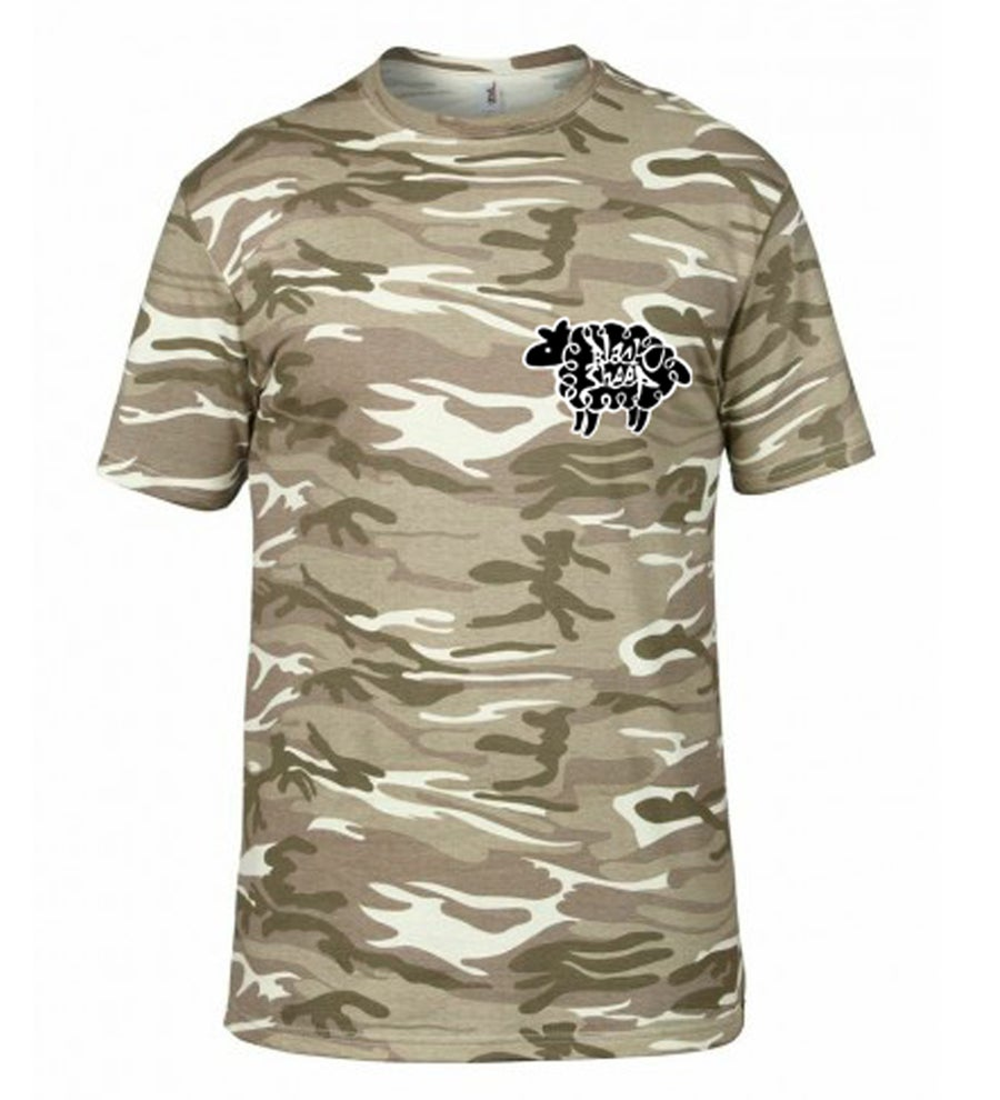 Image of CAMO T-SHIRT (DESERT)