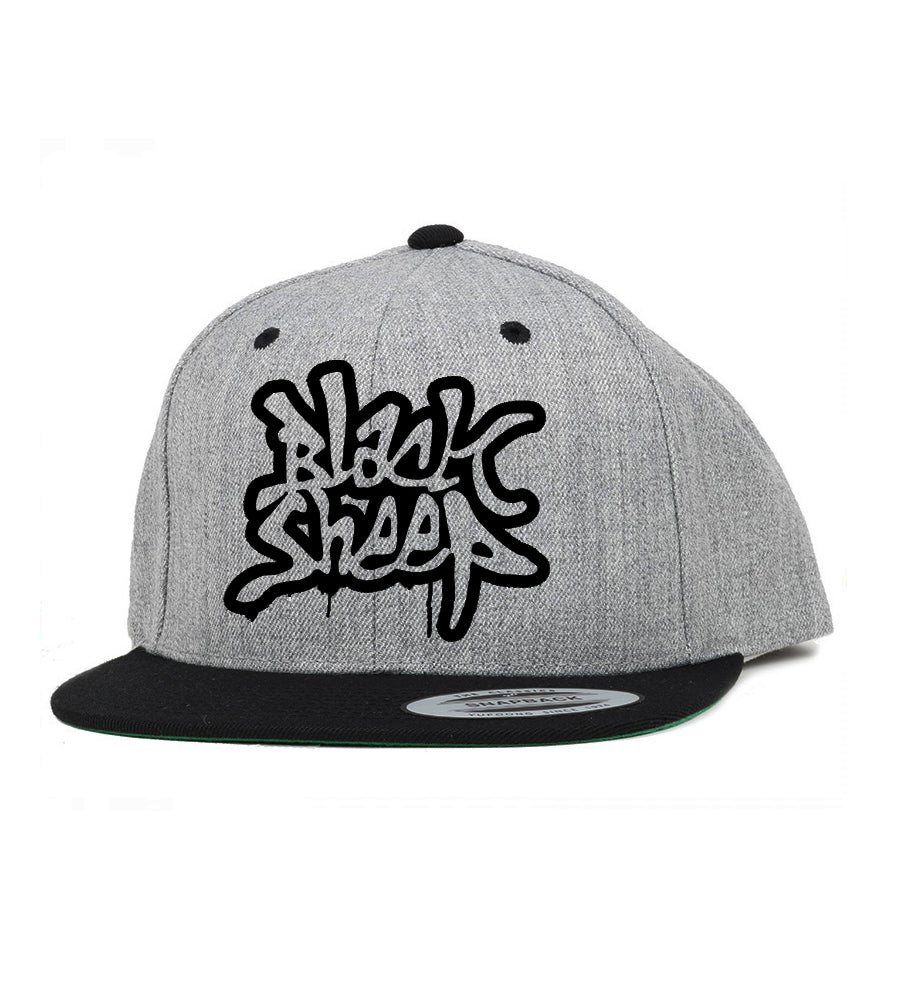 Image of DRIP SNAPBACK (GREY/BLACK)