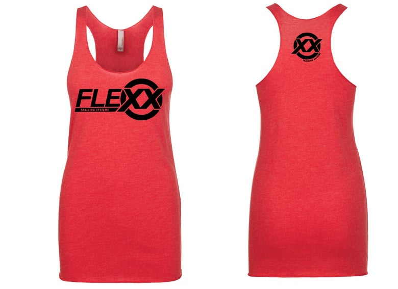 Image of Red/Black Women's Flexx Racerback