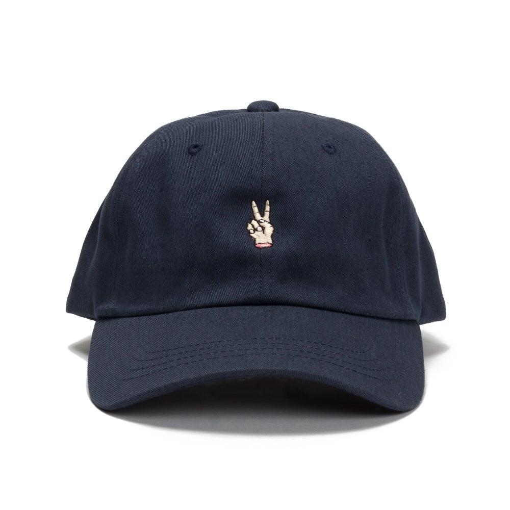 Image of Groovy People Dad Hat (Navy)