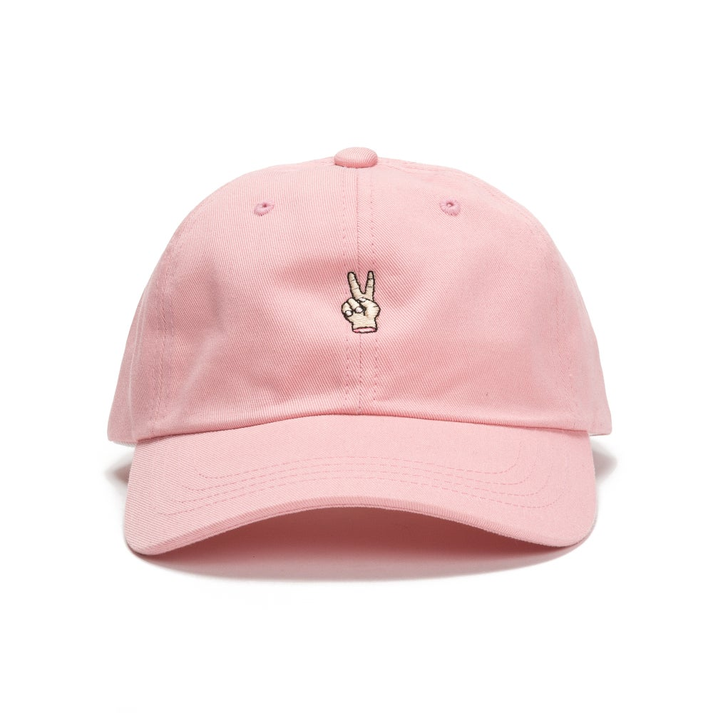 Image of Groovy People Dad Hat (Pink)
