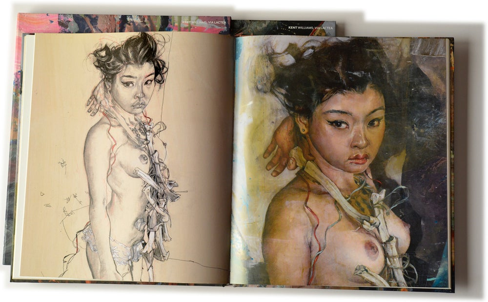 Image of Kent Williams – Via Lactea: His Drawings and Paintings of the Artist Soey Milk
