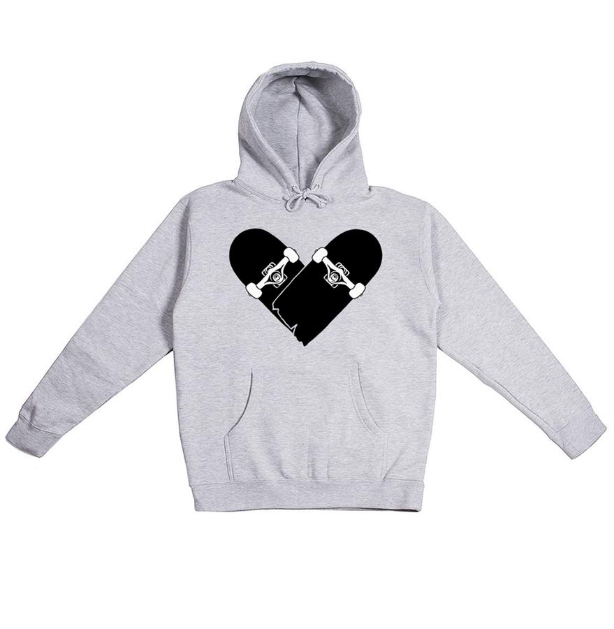Image of Skateboard Heart - Hoodie