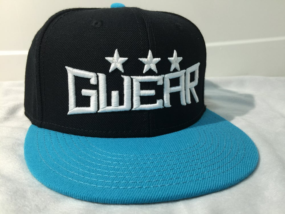 Image of Aqua 3Star Snapback