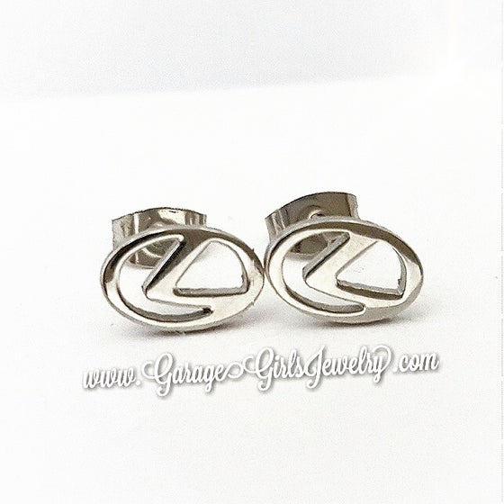 Image of Lexus Logo Emblem  Earrings