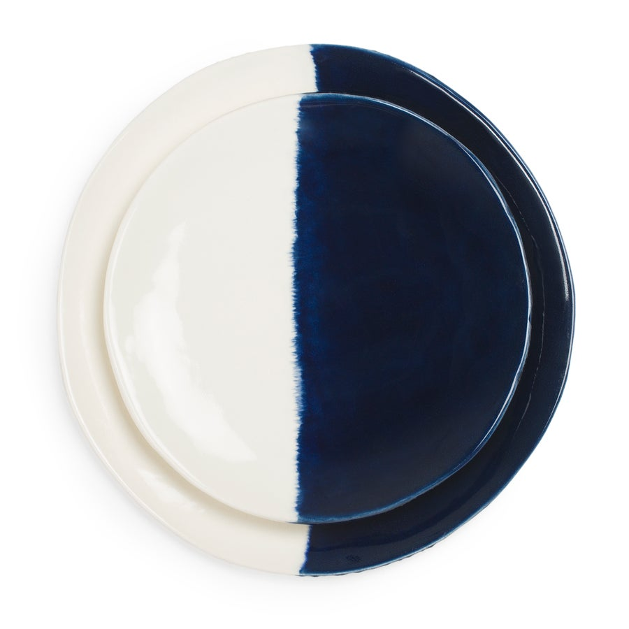 Image of Indigo Blue Dinner Plate Set