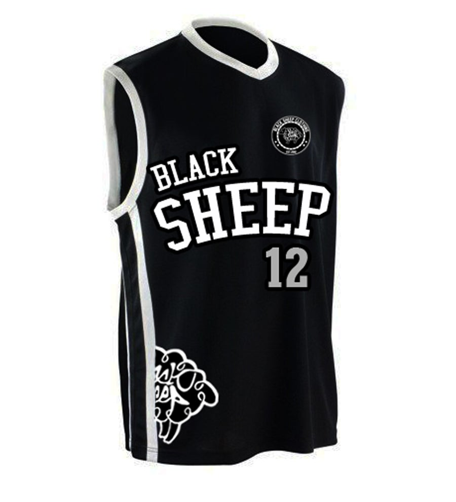 Image of BASKETBALL JERSEY (BLACK)