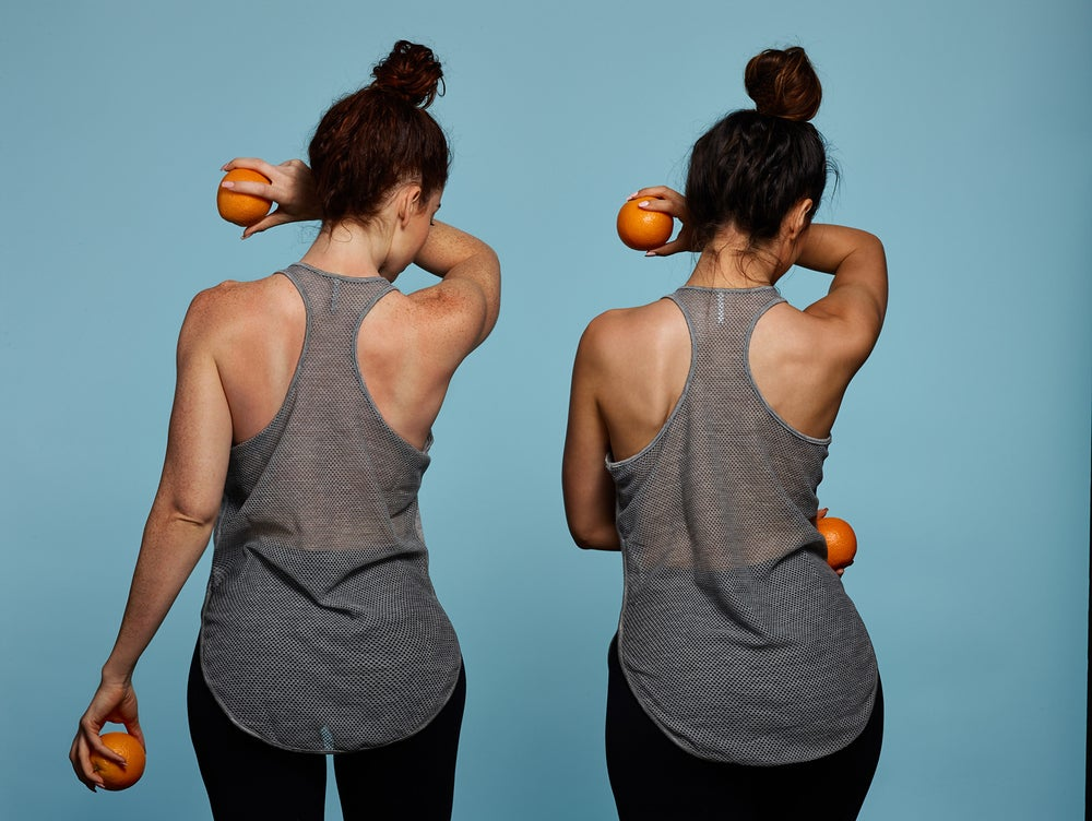 Image of Mesh Back Tank (Gray)