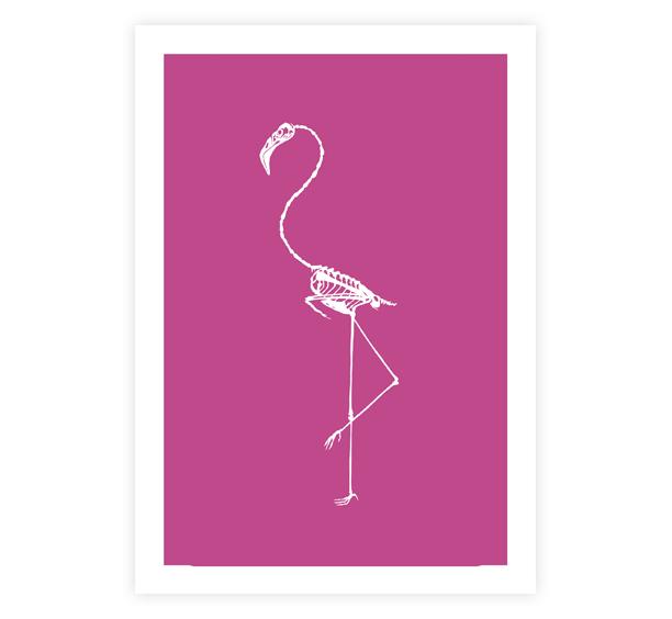 Image of Flamingo Print