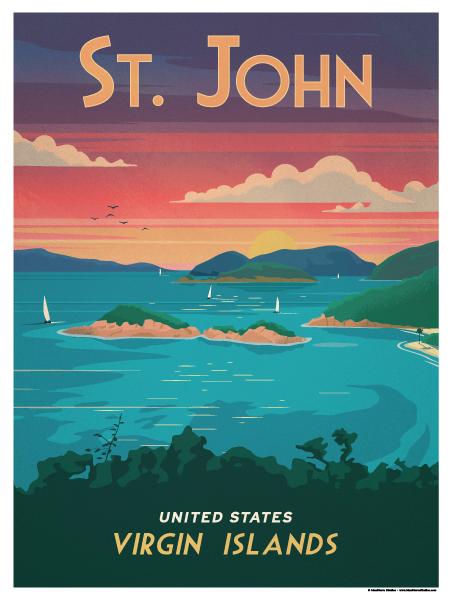 Image of St. John Poster