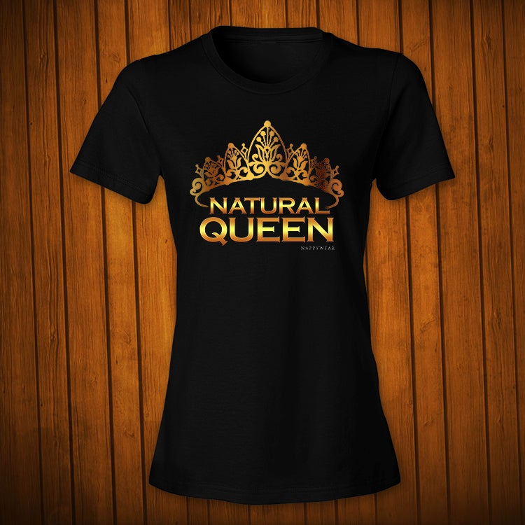 Image of Natural Queen Gold Black