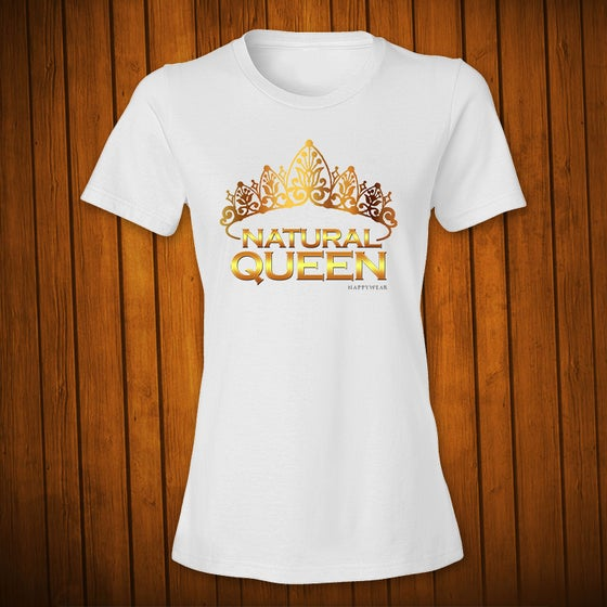 Image of Natural Queen Gold White