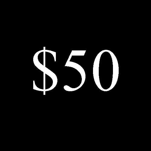 Image of $50 Donation