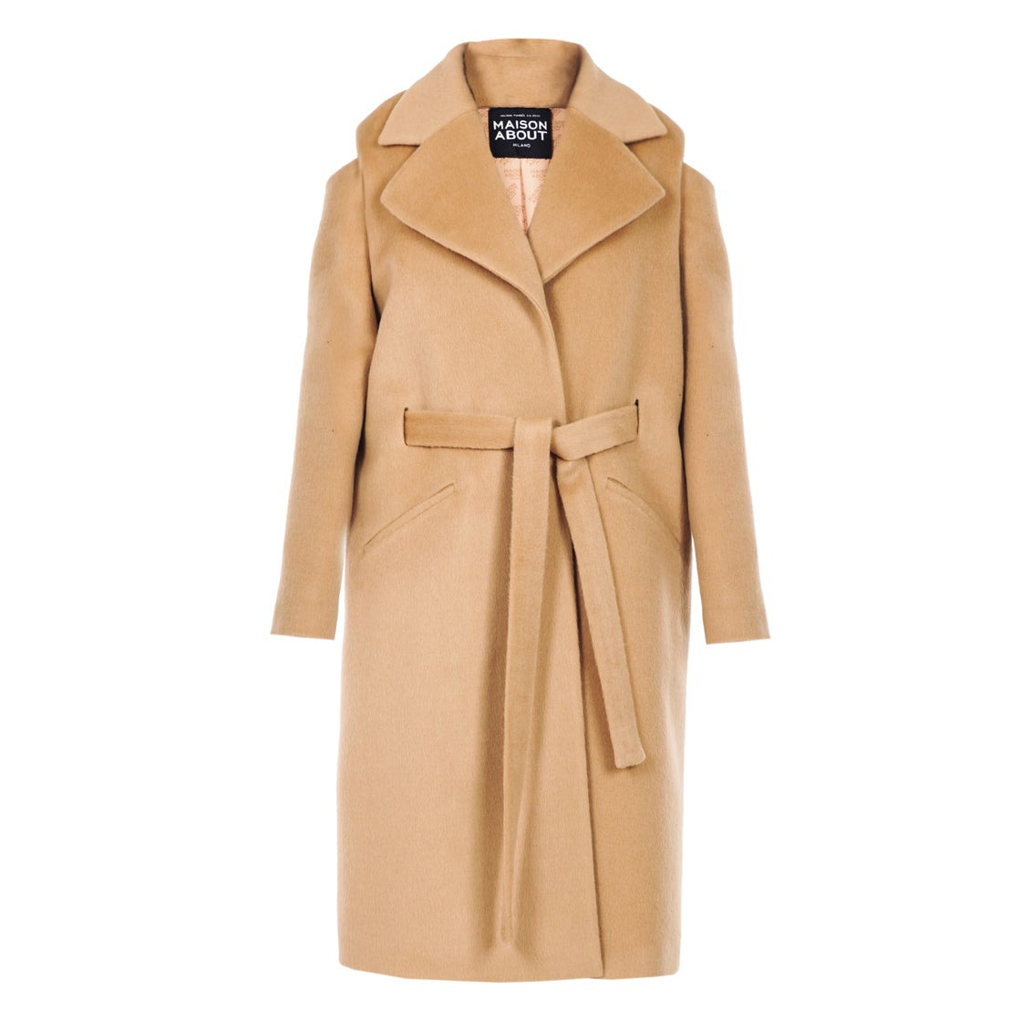 Image of Coat Cut-Out| Camel