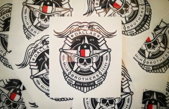 Image of DALLA5 - Memorial Sticker