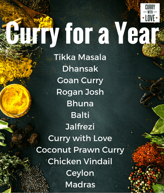 Image of Curry for a Year