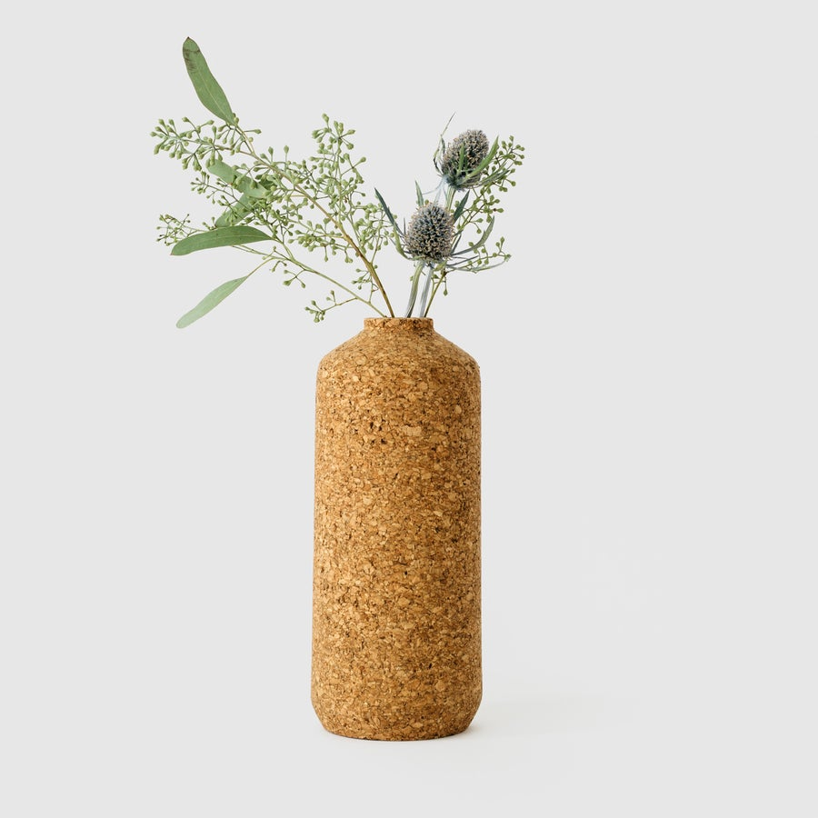Image of Tall Cork Vase