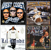 Image of Big CD Deal our new cd West Coast Loco + THE BEST LOSB + LIL BANDIT+ CHICANO RAP JAMS