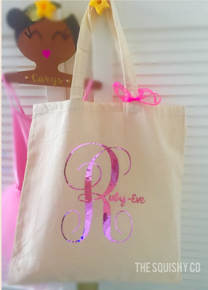 Image of Teachers gifts and back to school personalised bags