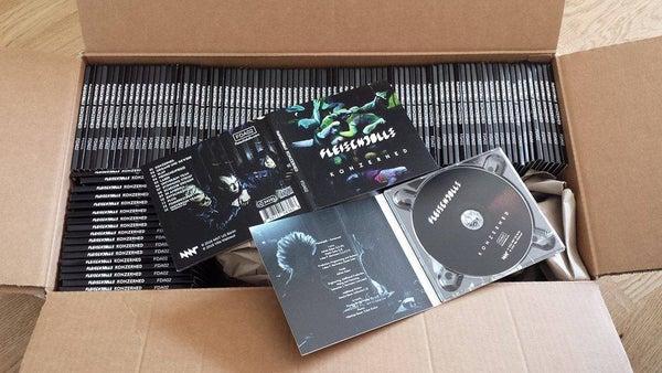 Image of Fleischdolls – Konzerned CD LP