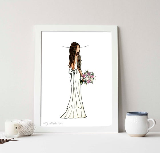 Image of Custom Bridal Illustration