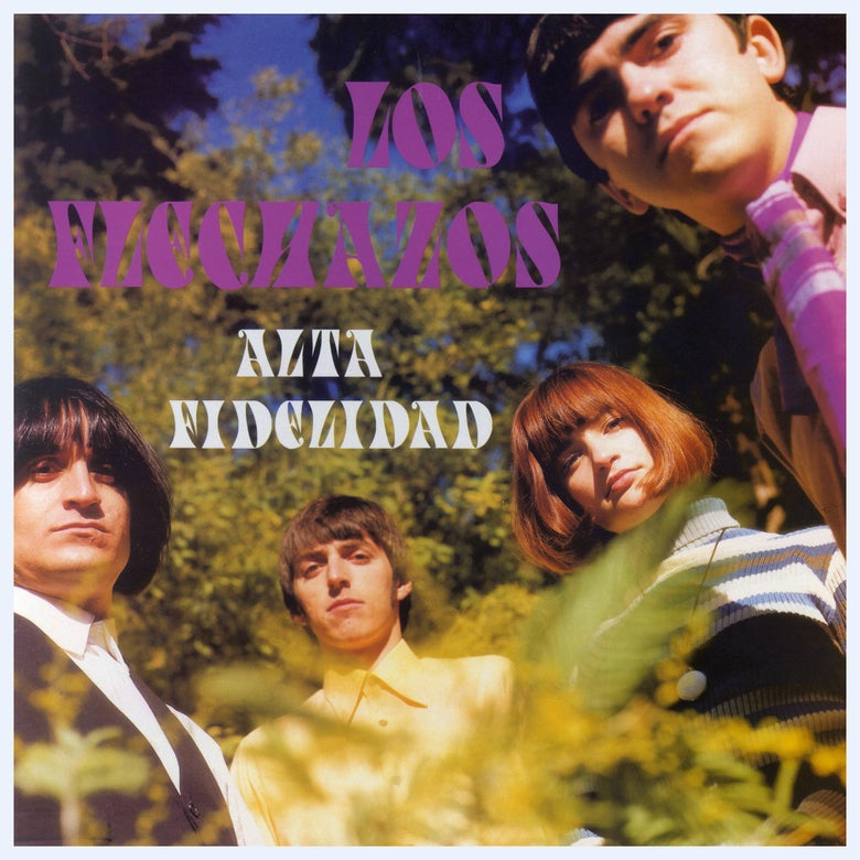 "Image of LOS FLECHAZOS - Alta Fidelidad (Ltd purple 12"" vinyl AND CD) - Elefant Anniversary Reissue"
