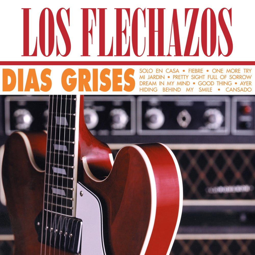 "Image of LOS FLECHAZOS - Días Grises (Ltd white 12"" vinyl AND CD - Elefant Anniversary reissue)"