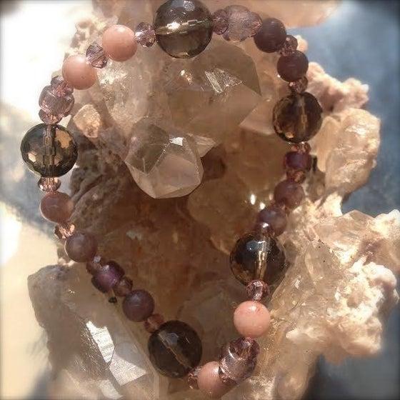 Image of Smokey Quartz, Pink Quartz, Pink Quartzite