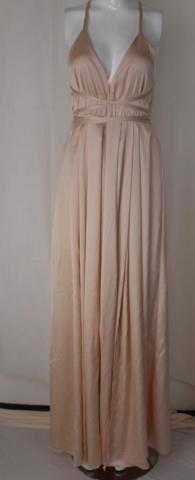 Image of HOT SHOW BODY NEW V COLLAR FORK DESIGN DRESS HIGH QUALITY