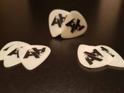 Image of DoubleA Guitar Plectrums!