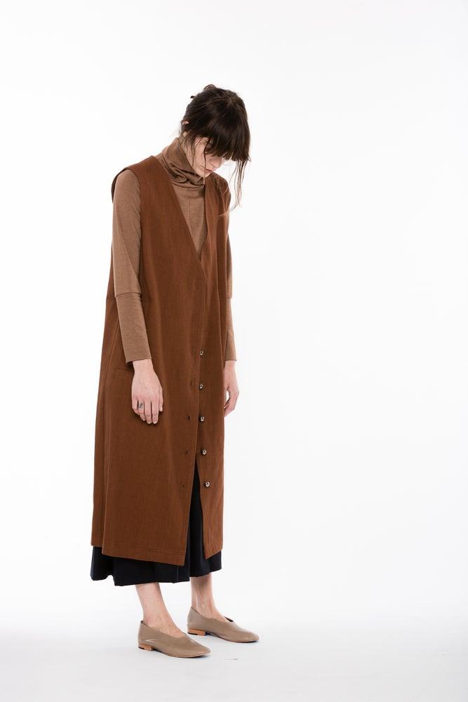 Image of Denim Yukio Vest | Silty