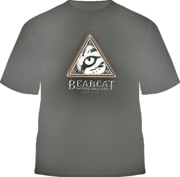 Image of Men's Bearcat Logo Metal Grey T