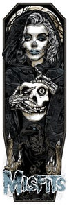 Image of MISFITS GHOST art print - FIEND BLACK
