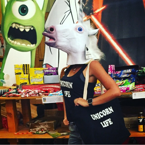 Image of Unicorn Life - Tank and Tote bundle
