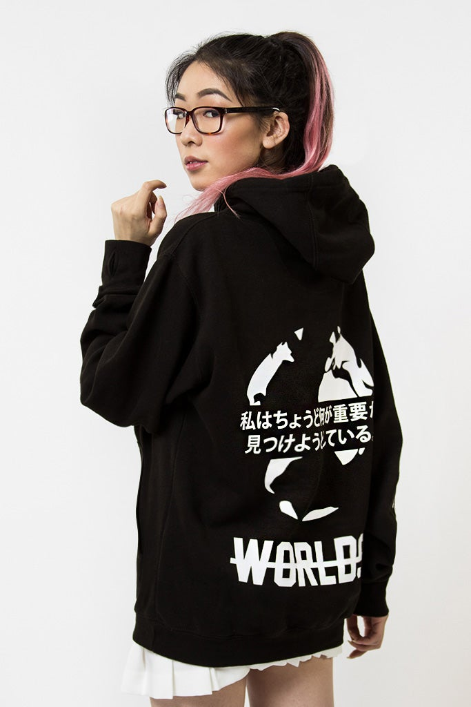 Image of WORLDS • HOODIE <br>【LIMITED EDITION】
