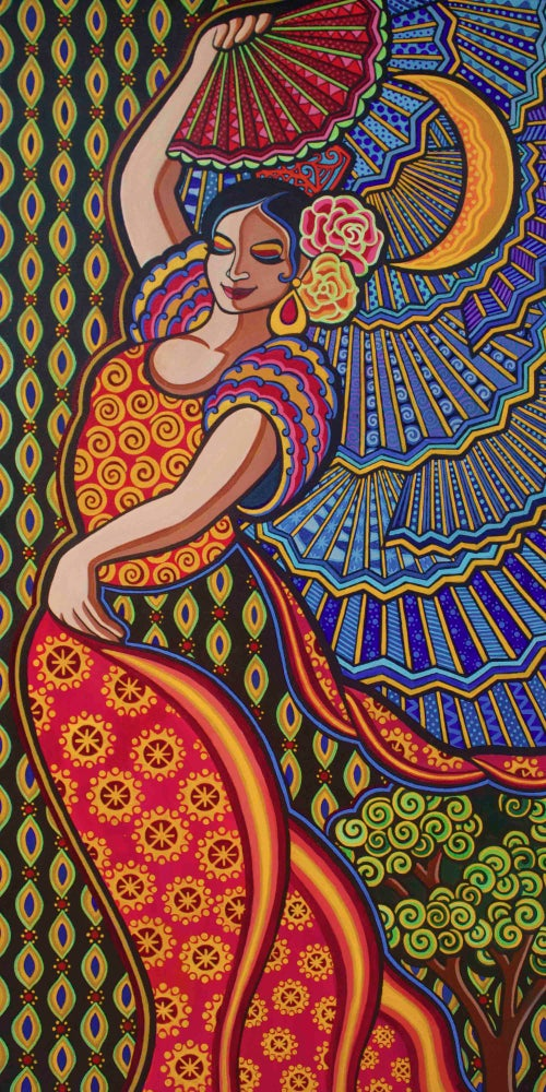 "Image of ""Flamenco by Night"" print"