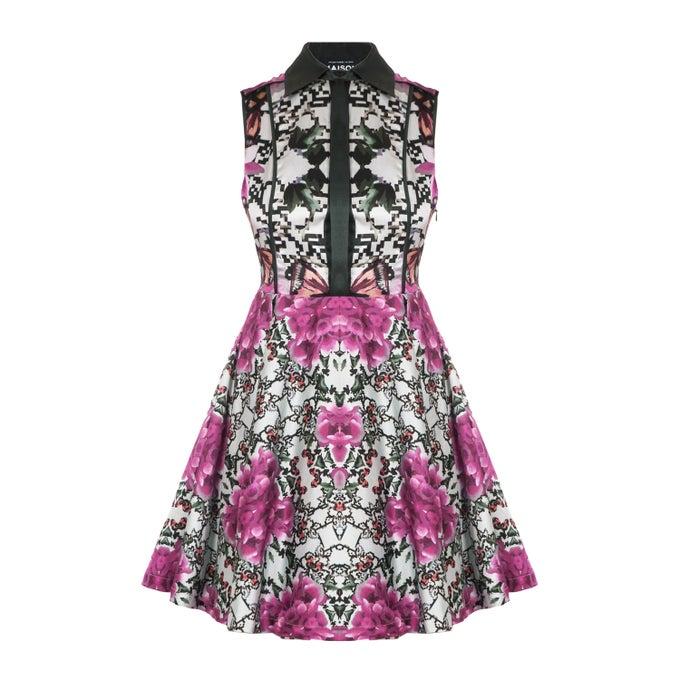 Image of Miami Dress  Peonies