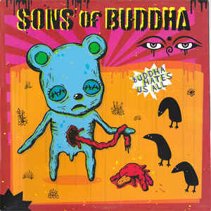 "Image of Sons Of Buddha ""Buddha Hates Us All"" (Lp)"