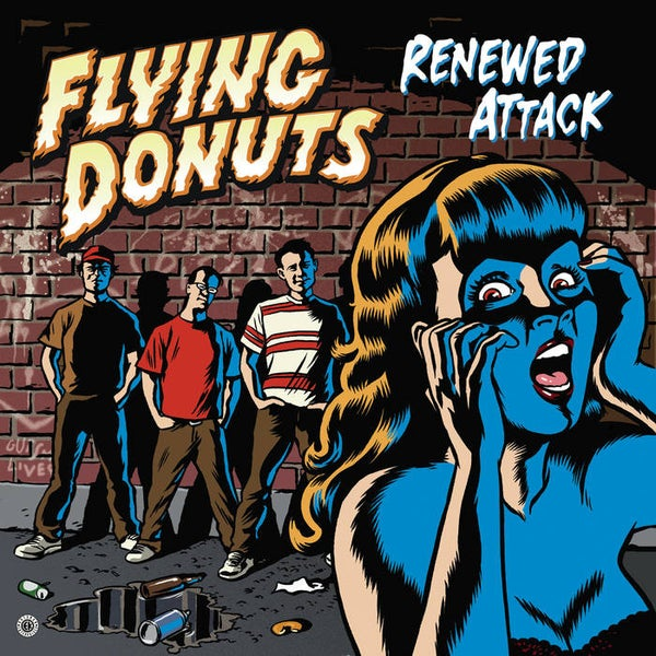 "Image of Flying Donuts ""Renewed Attack"" (Lp)"