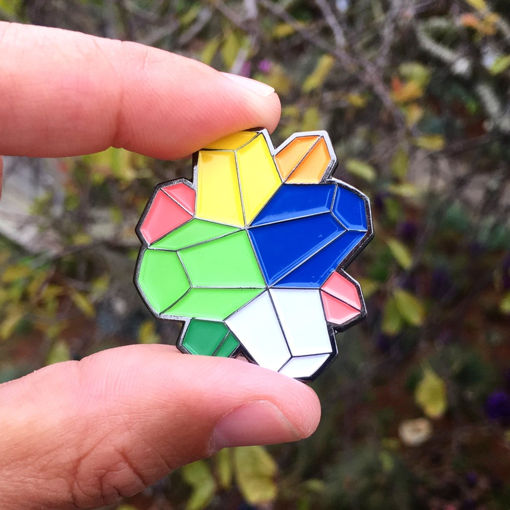 Image of Willy Wonka - Everlasting Gobstopper pin