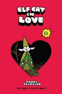 Image of Elf Cat in Love by James Kochalka