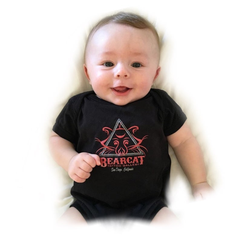 Image of Baby Bearface Onesie